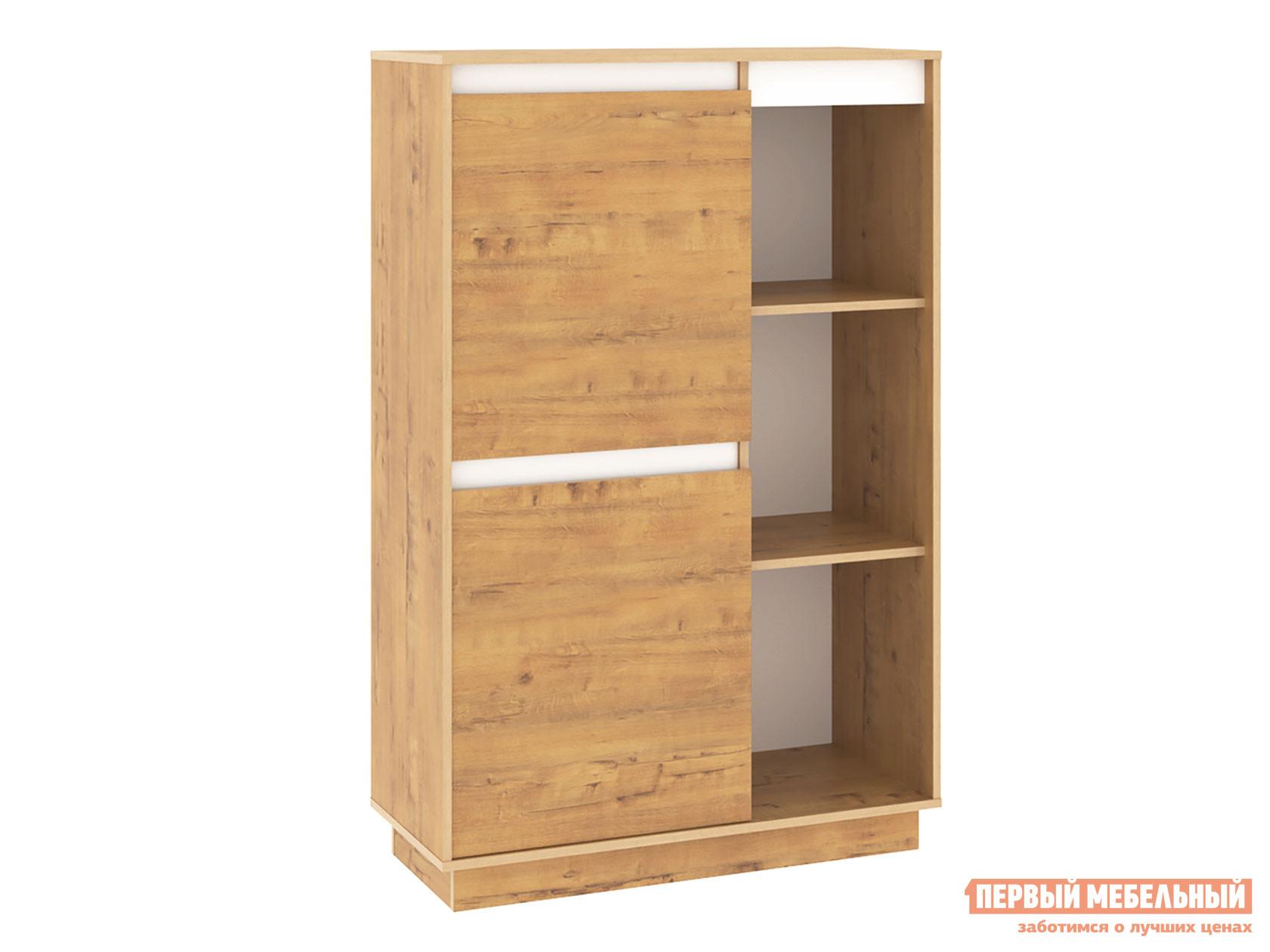 Стеллаж Первый Мебельный Шкаф комбинированный левый 011.85 Вирджиния / Шкаф комбинированный правый 011.85 Вирджиния стеллаж комбинированный ассоль