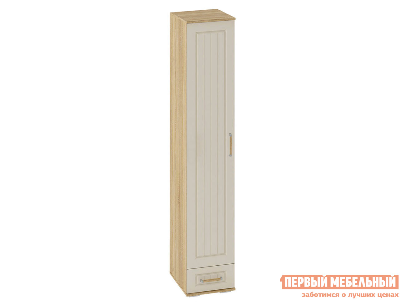 Распашной шкаф  Пенал Маркиза Дуб Сонома