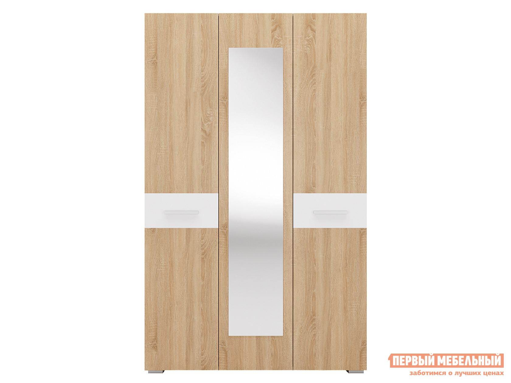 Шкаф распашной Первый Мебельный Даллас 3 распашной шкаф трехстворчатый первый мебельный вегас 3