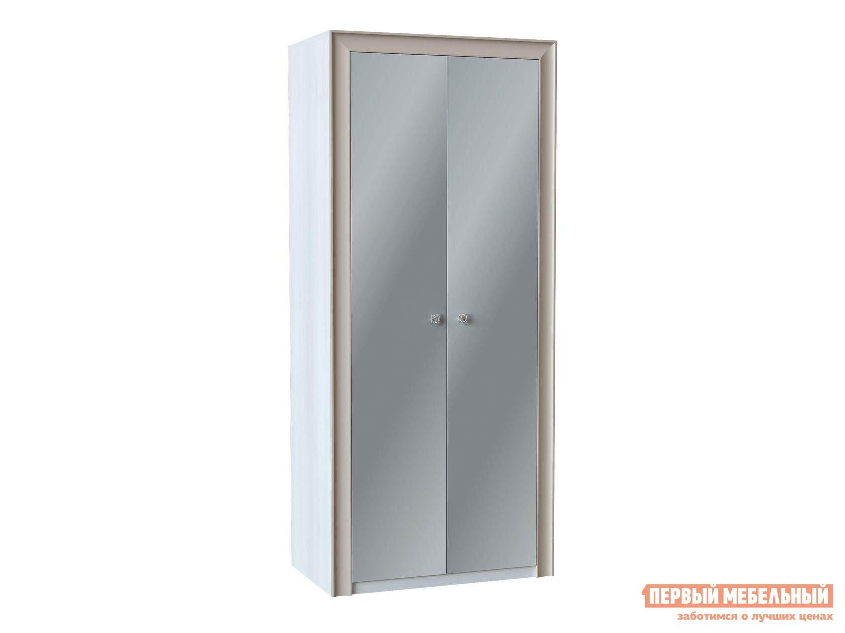 Шкаф распашной Первый Мебельный Прато Ш2 с зеркалами напольное зеркало первый мебельный прато вз