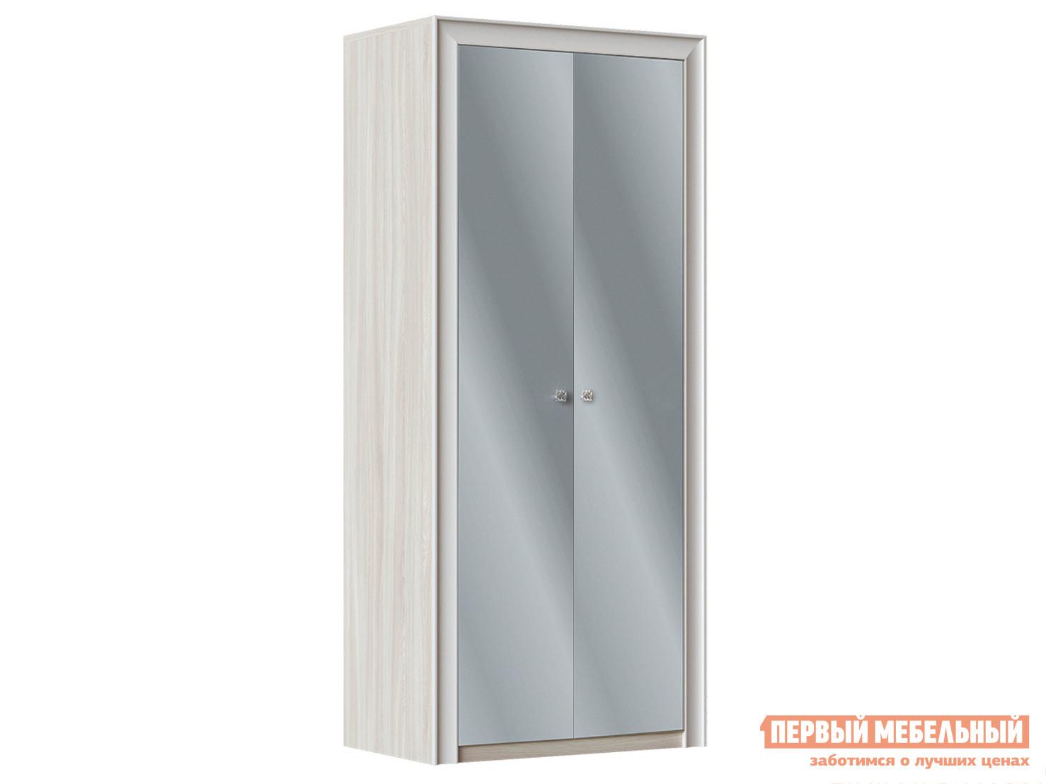 Шкаф распашной Первый Мебельный Прато Ш2 с зеркалами