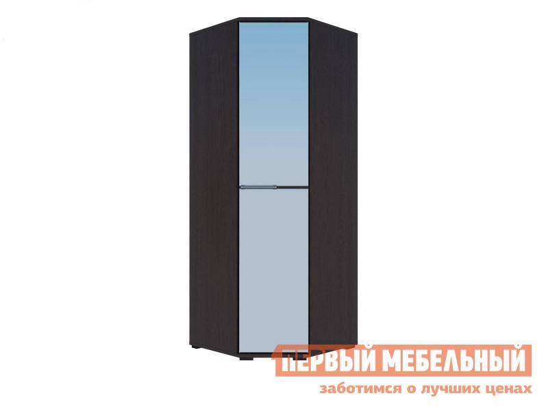 Шкаф угловой с зеркалом Первый Мебельный Шкаф угловой Луиза с зеркалом