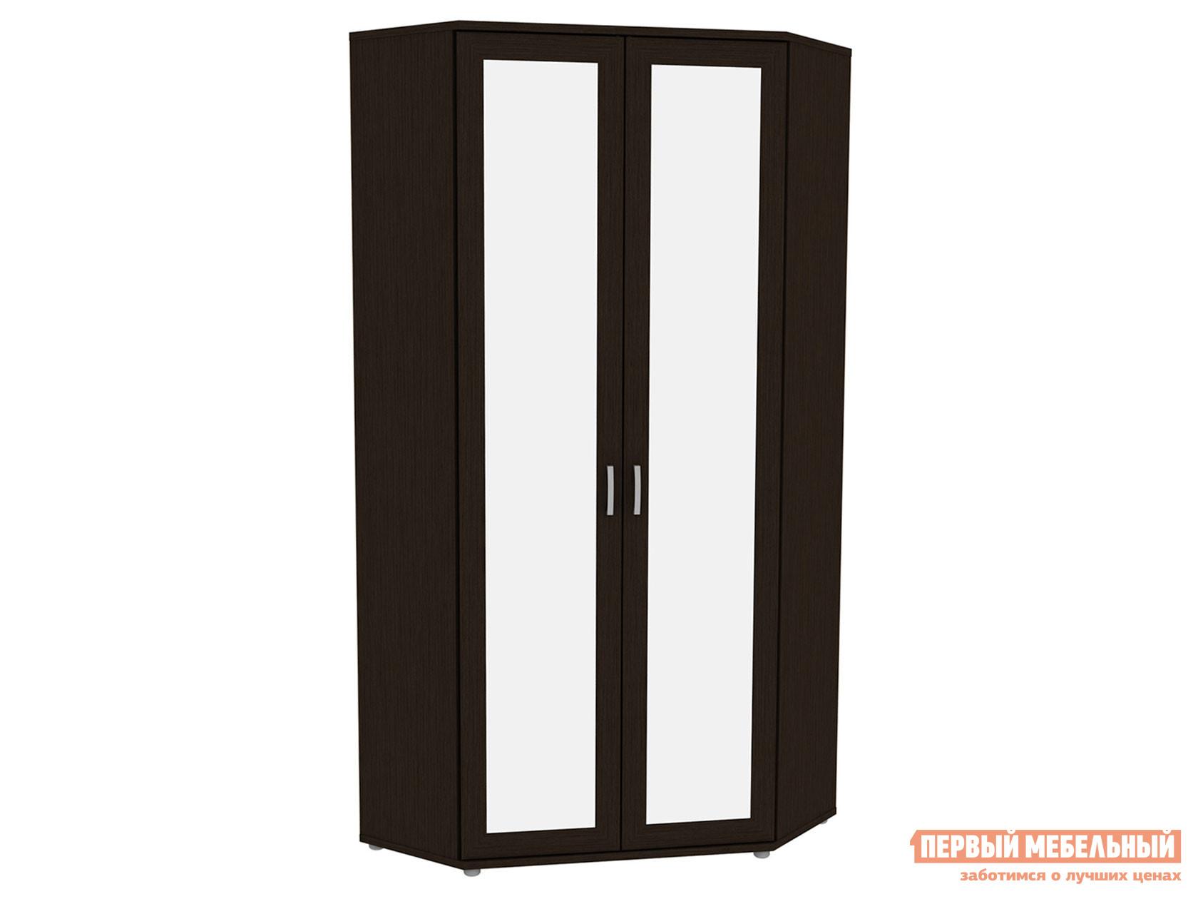 Угловой шкаф Первый Мебельный Шкаф угловой с зеркалами Леруа 533.02