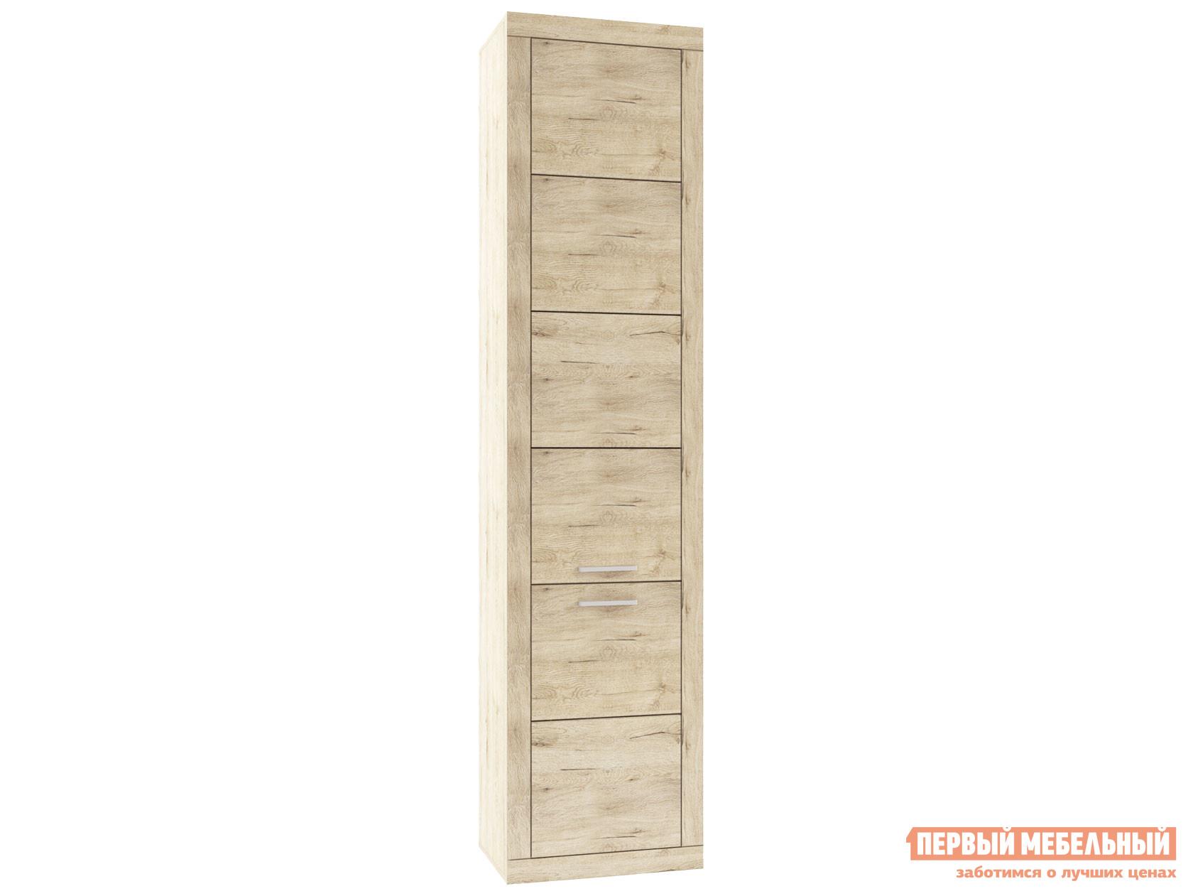 Шкаф распашной Первый Мебельный Пенал 2 двери Оскар