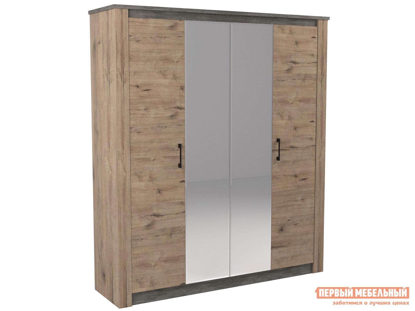 Шкаф распашной Первый Мебельный Шкаф 4-х дв. Денвер недорого