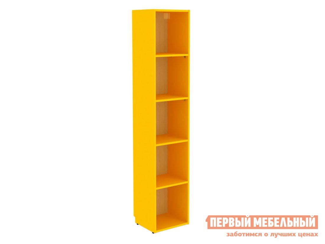 Стеллаж в детскую Шкаф открытый Дарина АРТ УШ04 Желтый фото