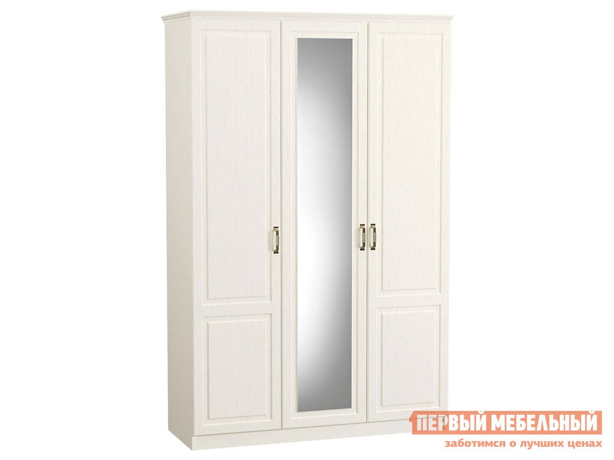 Фото - Распашной шкаф Первый Мебельный Шкаф 3-х створчатый с карнизом Ливерпуль распашной шкаф первый мебельный шкаф 3 х дверный глухой венето