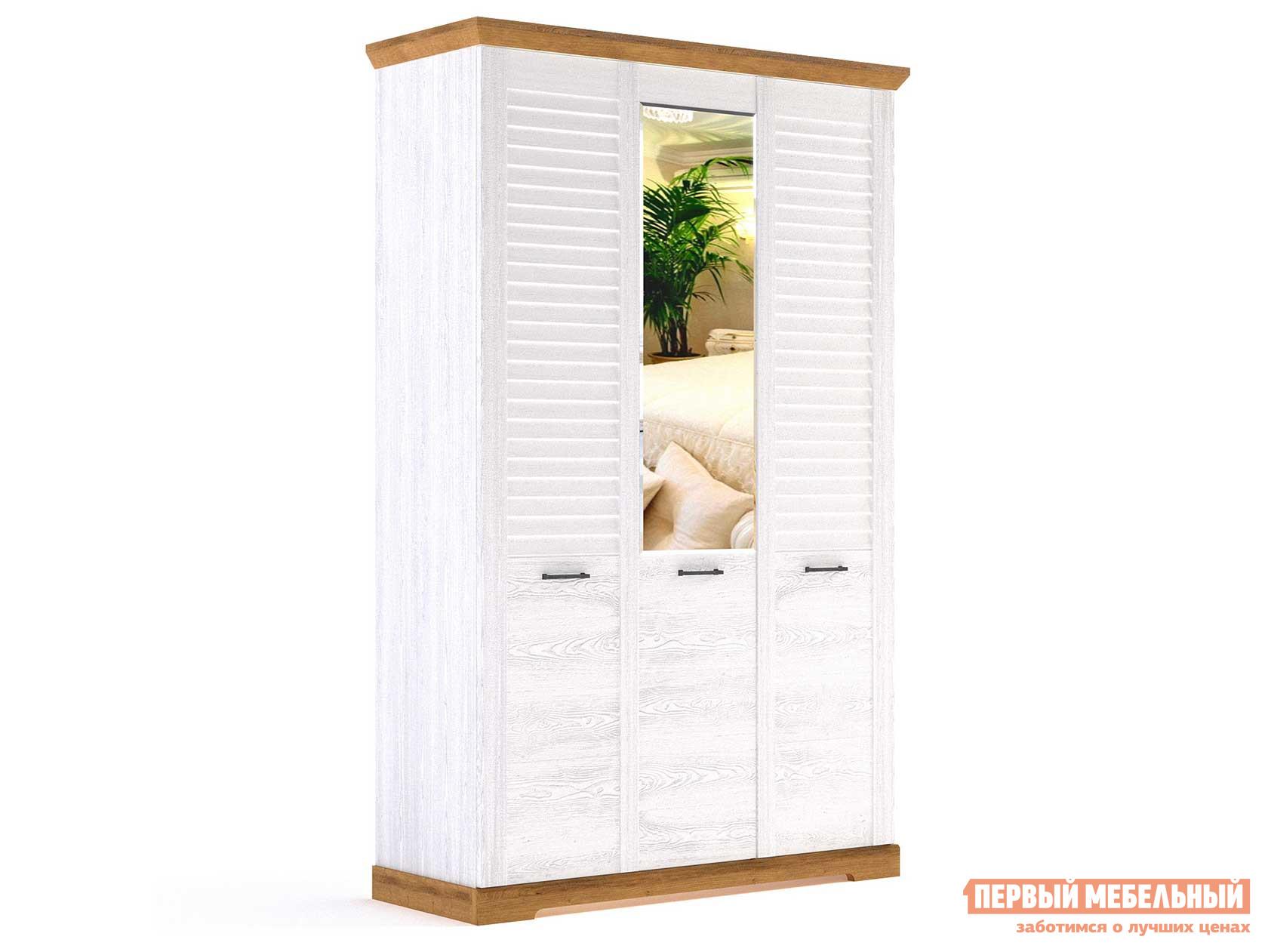 Шкаф распашной Первый Мебельный Спальня Кантри Шкаф 3-х дверный шкаф распашной первый мебельный м 1 шкаф 2 х дверный