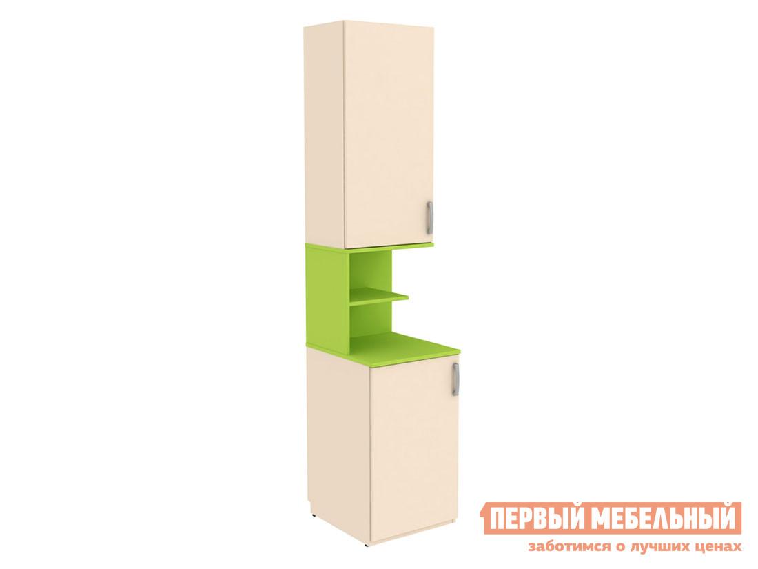 Детский шкаф Первый Мебельный Шкаф со вставкой Дарина АРТ. УШ02