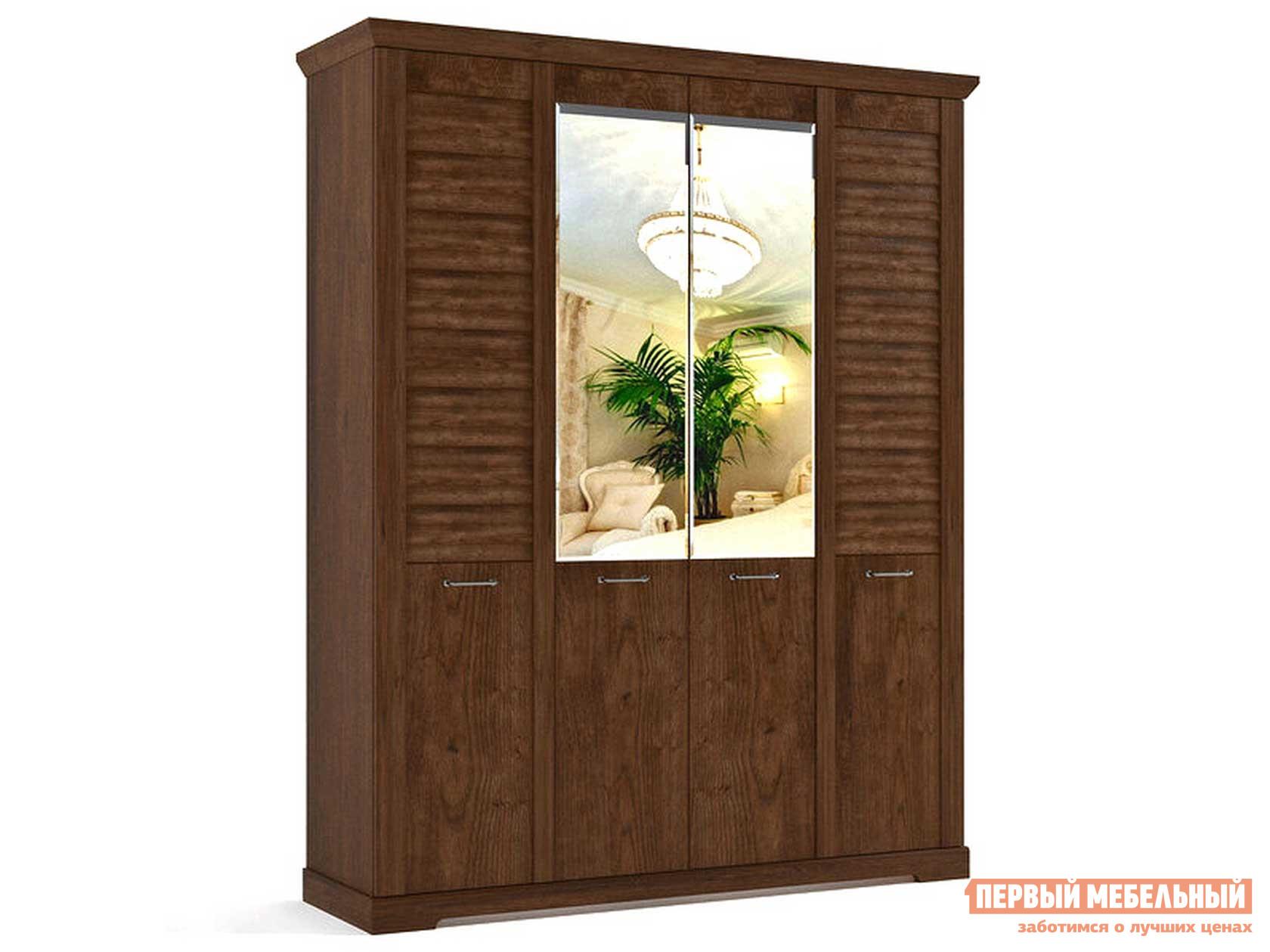 Шкаф распашной Первый Мебельный Шкаф 4-х дверный Кантри распашной шкаф шкаф 4 х дверный с доводчиками медея медея