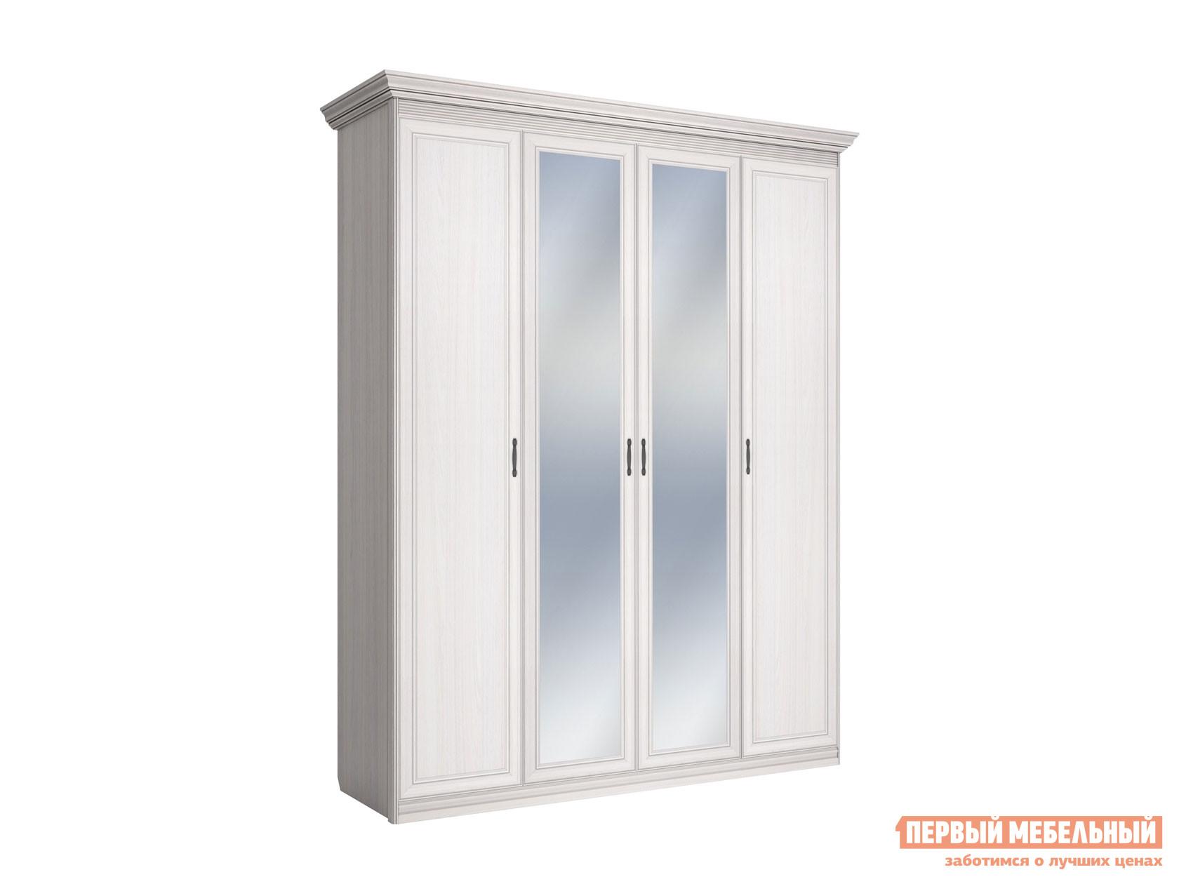 Распашной шкаф Первый Мебельный Шкаф 4-х дверный Неаполь