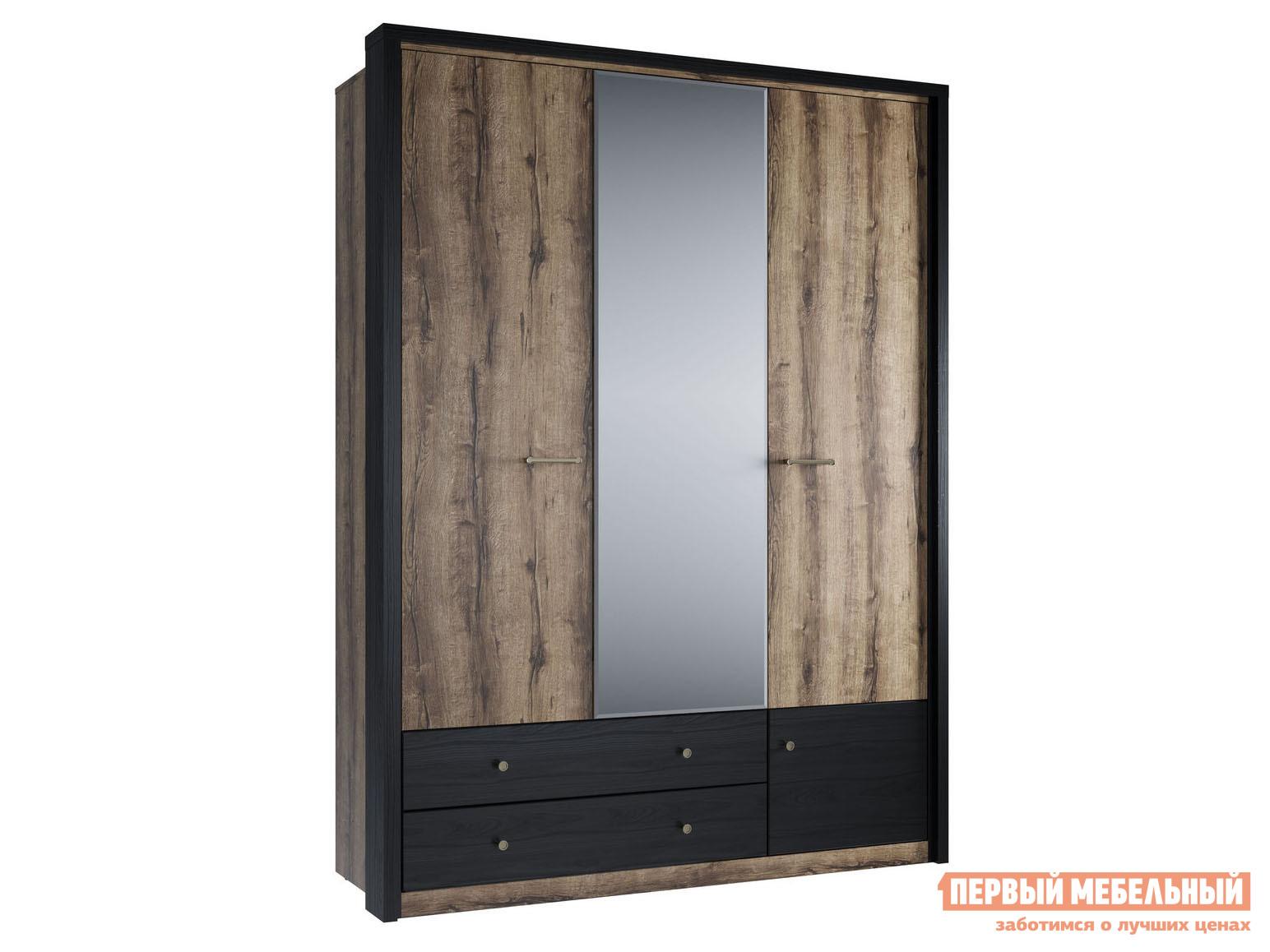Шкаф распашной Первый Мебельный 3-х створчатый Джагер