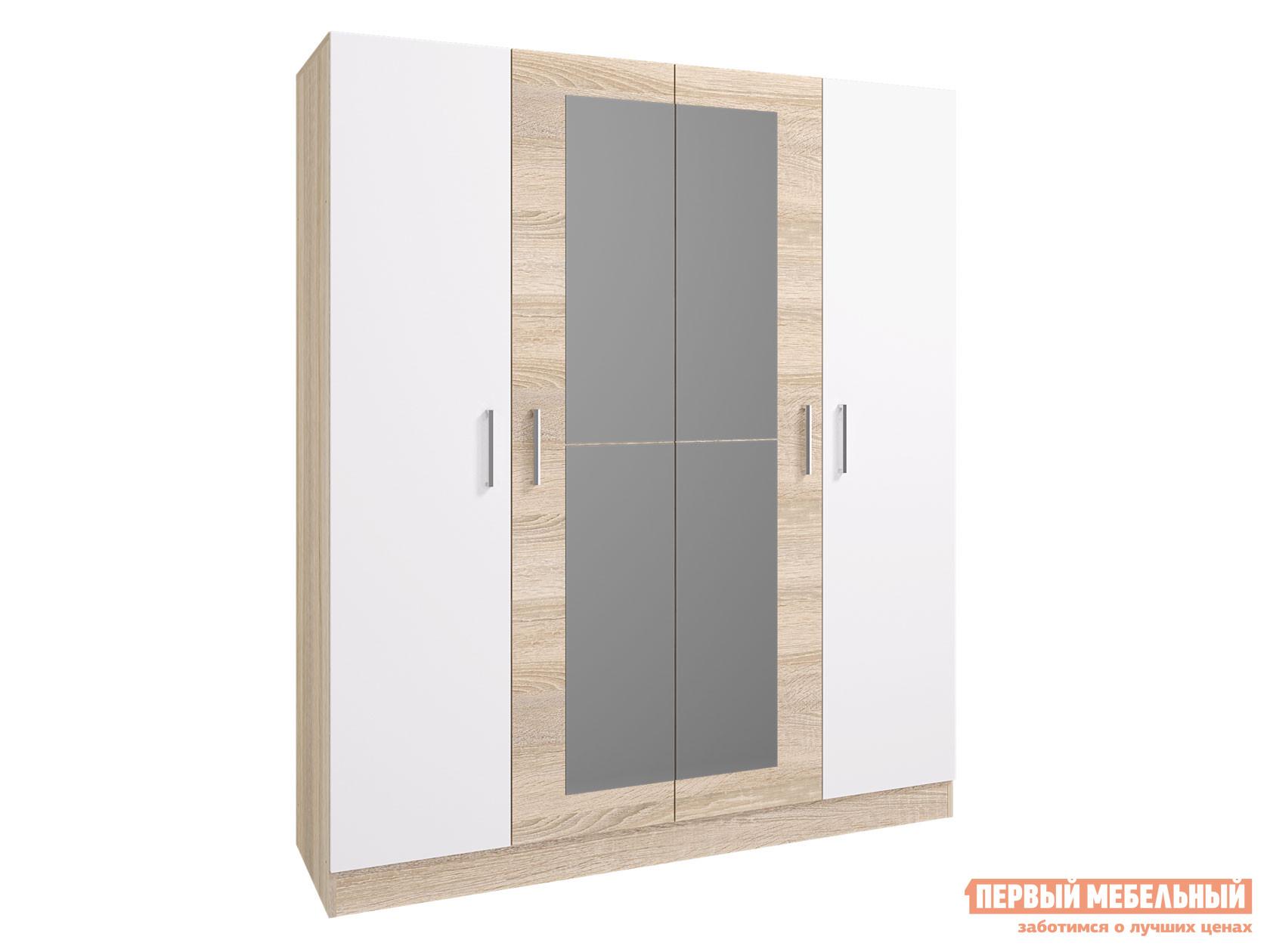 Фото - Распашной шкаф Первый Мебельный Шкаф 4-х дверный Леси распашной шкаф первый мебельный шкаф 3 х дверный глухой венето