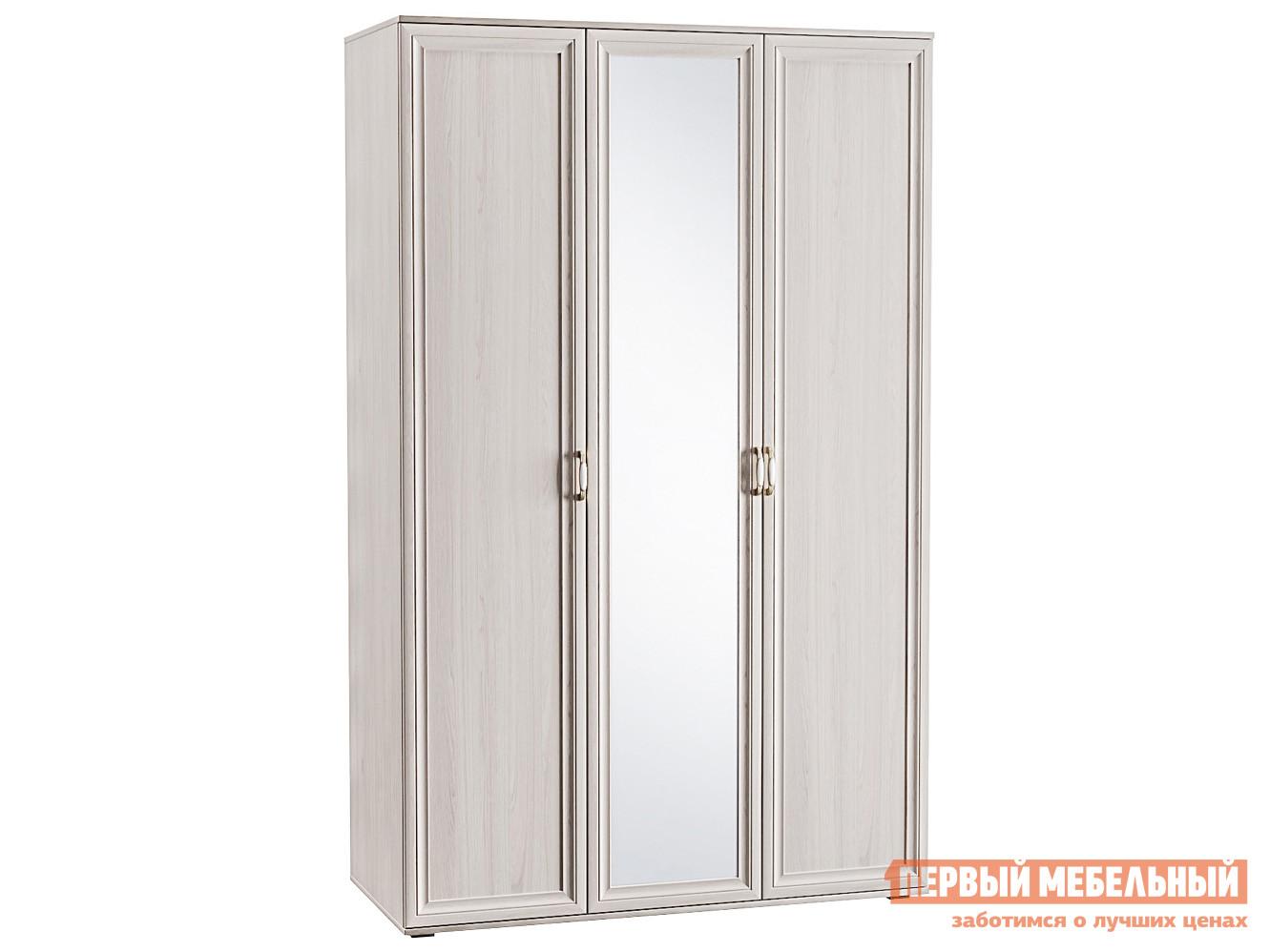 Распашной шкаф Первый Мебельный Шкаф 3-х створчатый с зеркалом Аврора 1782/02 распашной шкаф с зеркалом первый мебельный шкаф 3 х дверный с зеркалом парма