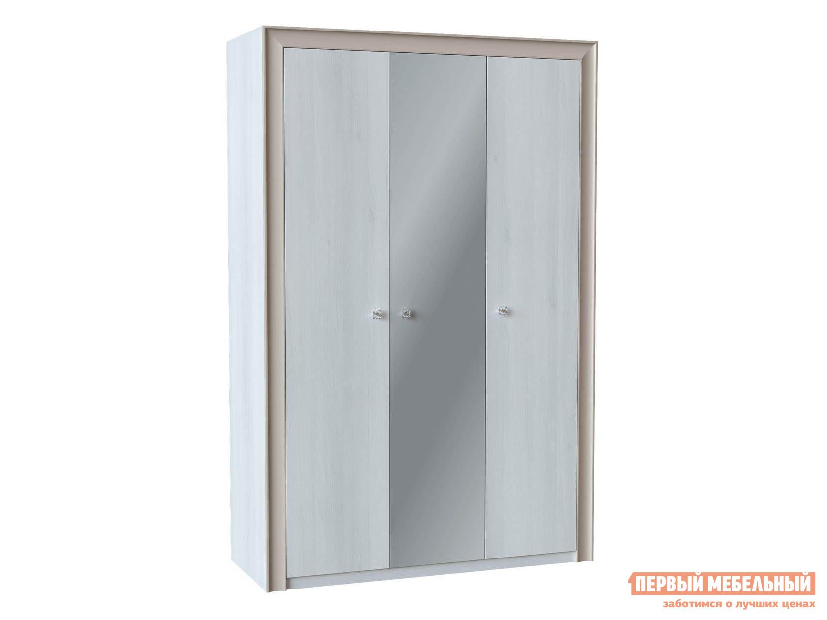 Шкаф распашной с зеркалом Первый Мебельный Прато Ш3 с зеркалом