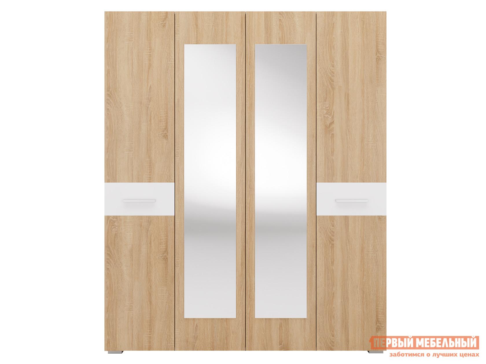 Шкаф распашной Первый Мебельный Даллас 4 распашной шкаф первый мебельный тоскана 4