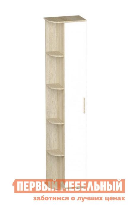 Угловой шкаф-стеллаж Первый Мебельный Шкаф однодверный Сенди шкаф стеллаж пилигрим