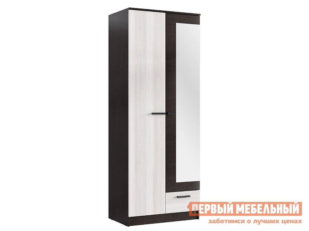 Распашной шкаф Первый Мебельный Шкаф Адель 0,8 м