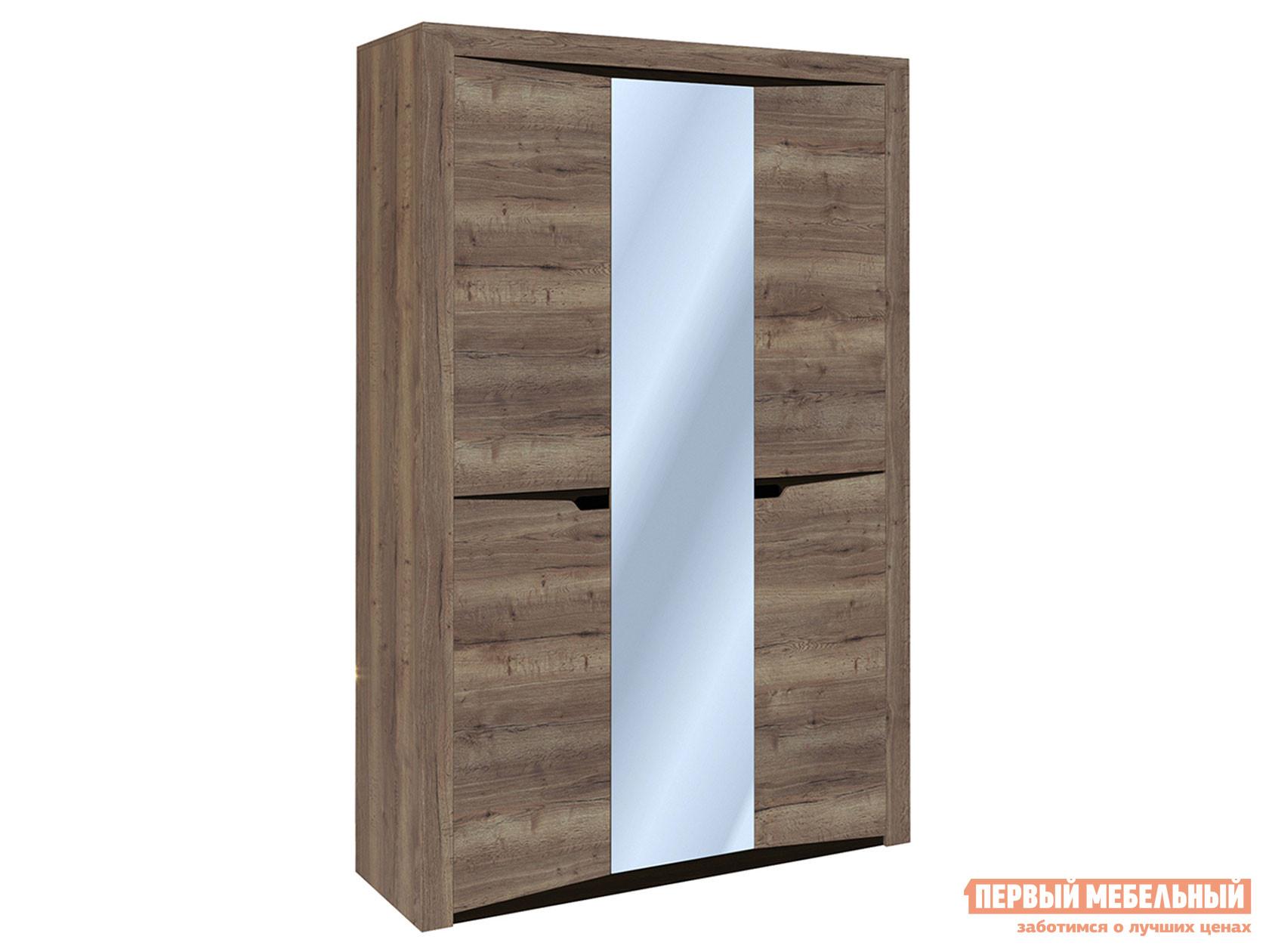 Распашной шкаф с зеркалом Первый Мебельный Шкаф 3-х дверный Гарда распашной шкаф с зеркалом первый мебельный шкаф 3 х дверный с зеркалом парма