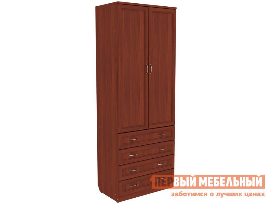 Распашной шкаф  Мерлен 103 Итальянский орех Уют сервис 85458