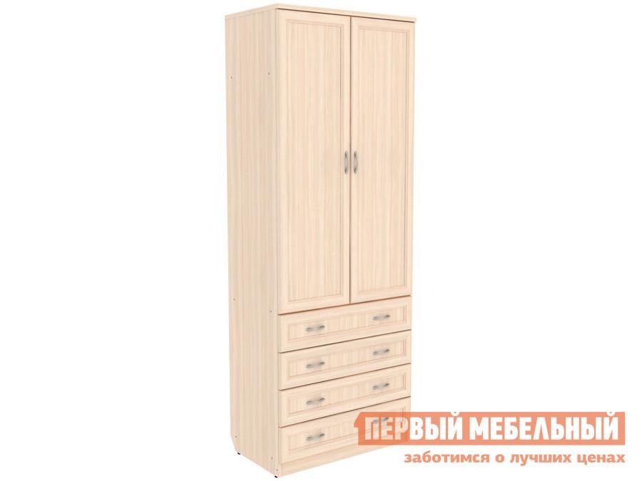 Распашной шкаф  Мерлен 103 Молочный дуб Уют сервис 85459