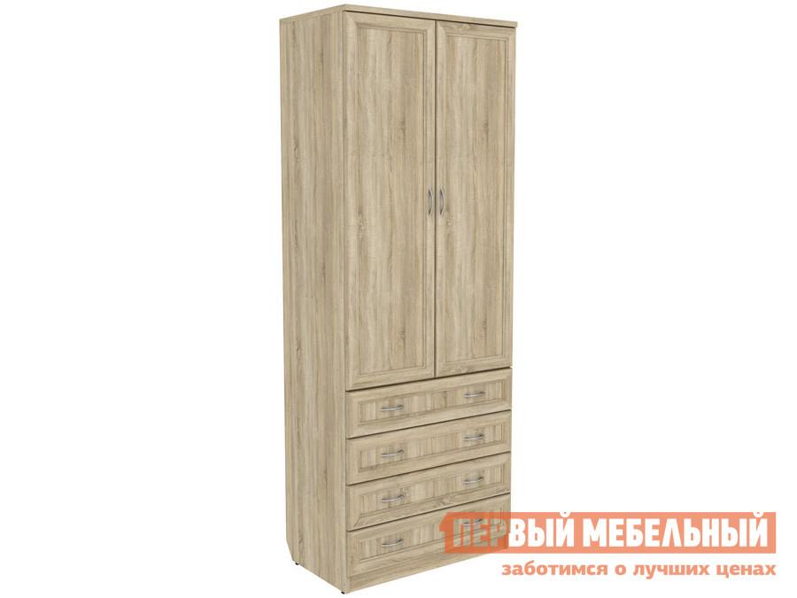 Распашной шкаф  Мерлен 103 Дуб Сонома Уют сервис 70250
