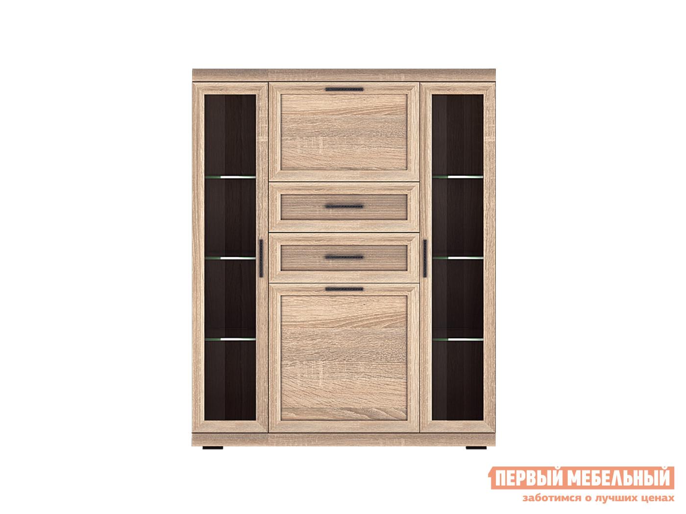Шкаф-витрина Первый Мебельный Вега Прованс 8 шкаф угловой первый мебельный вега прованс шу
