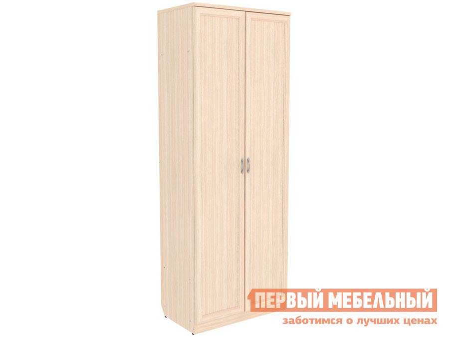 Распашной шкаф  Мерлен 101 Молочный дуб Уют сервис 85467