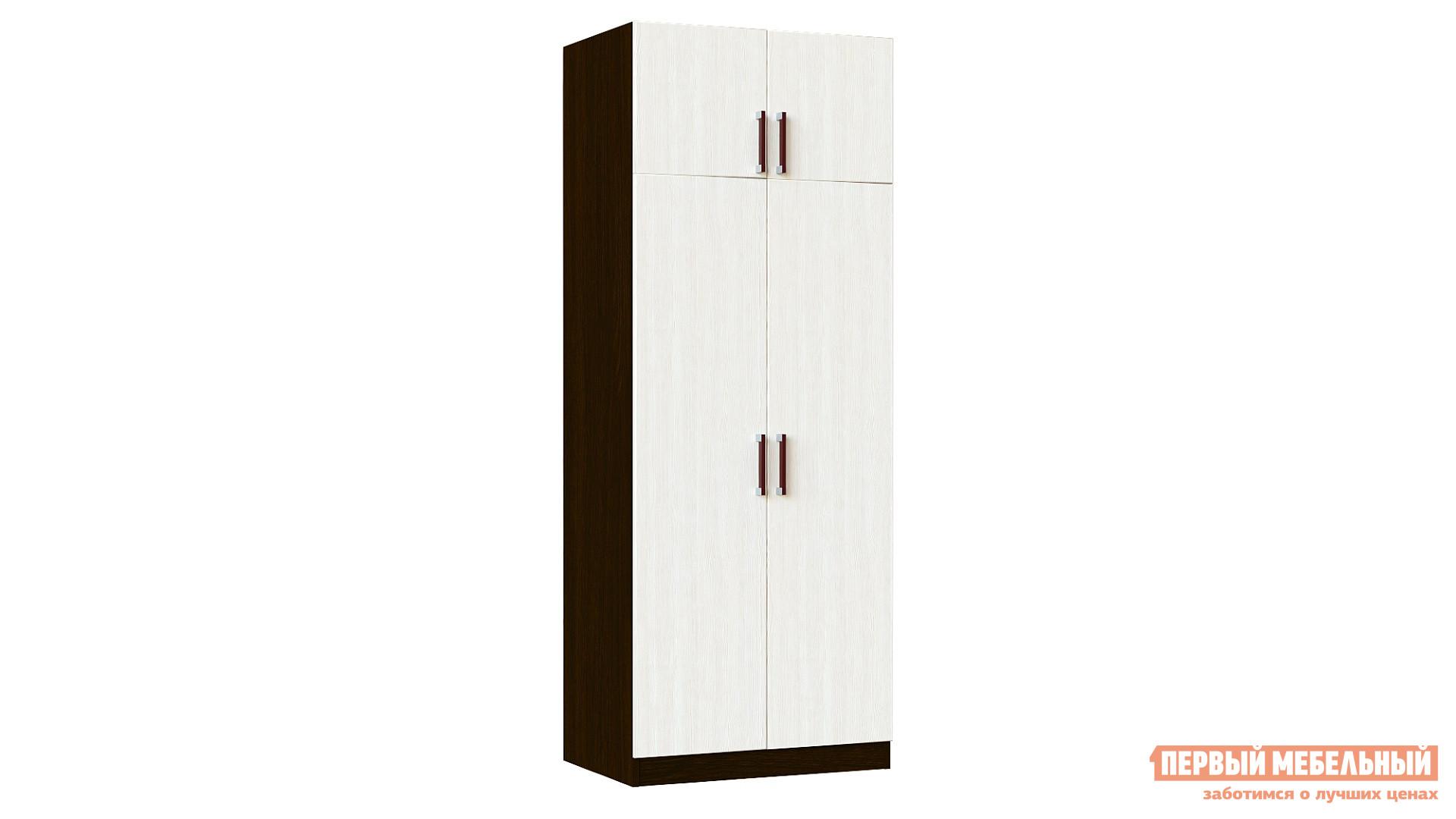 Распашной шкаф  Шкаф Лидер 2 Венге / Лоредо — Шкаф Лидер 2 Венге / Лоредо