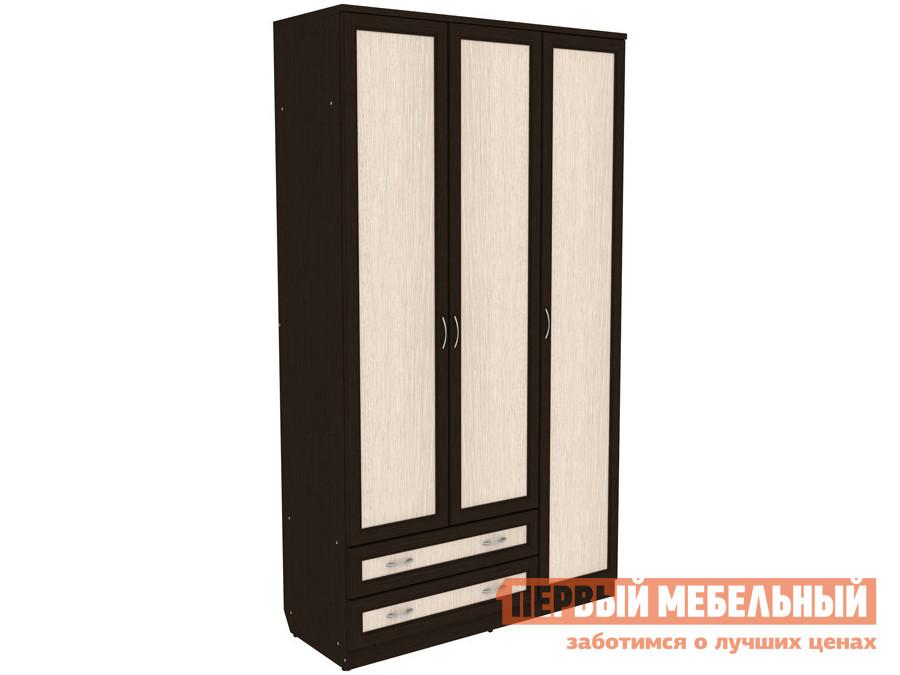 Шкаф для одежды с ящиками Первый Мебельный Мерлен 114