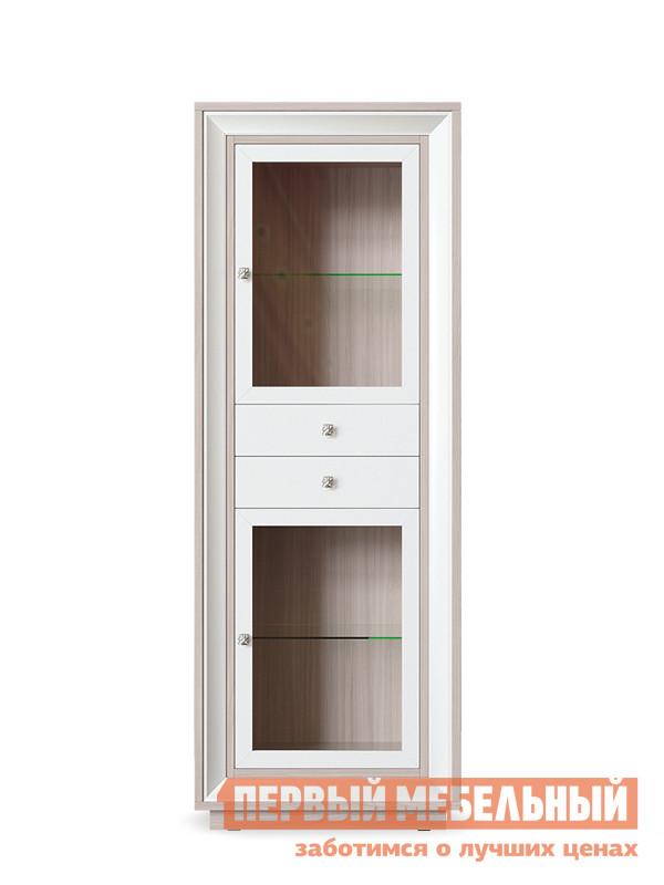 Шкаф-витрина Первый Мебельный Шкаф 2 стеклодвери 2 ящика Прато шкаф 1 стеклодверь и ящик прато