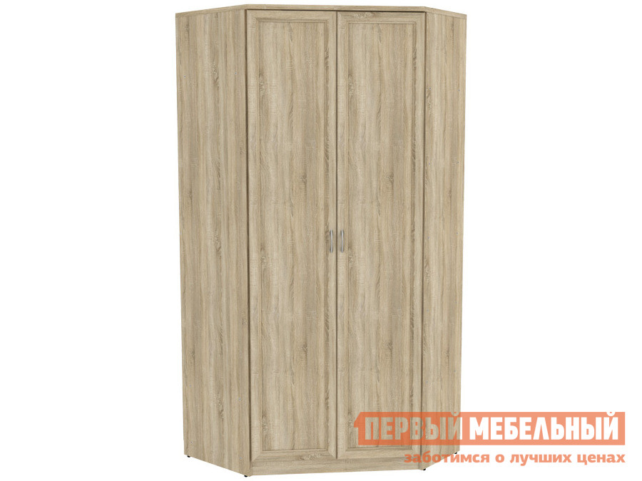 Распашной шкаф  угловой Мерлен 403 Дуб Сонома Уют сервис 65875