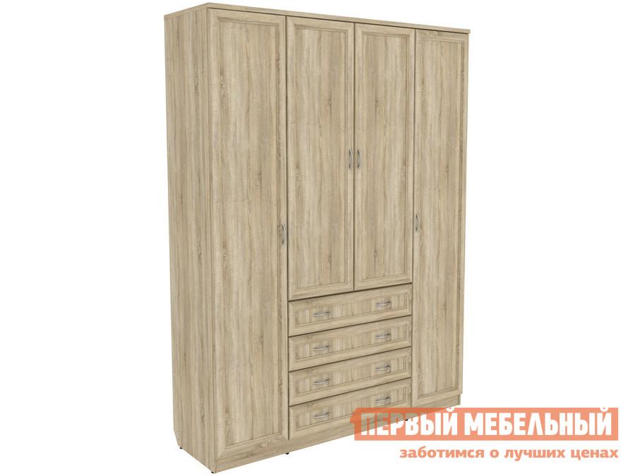 Распашной шкаф  Мерлен 110 Дуб Сонома Уют сервис 70262