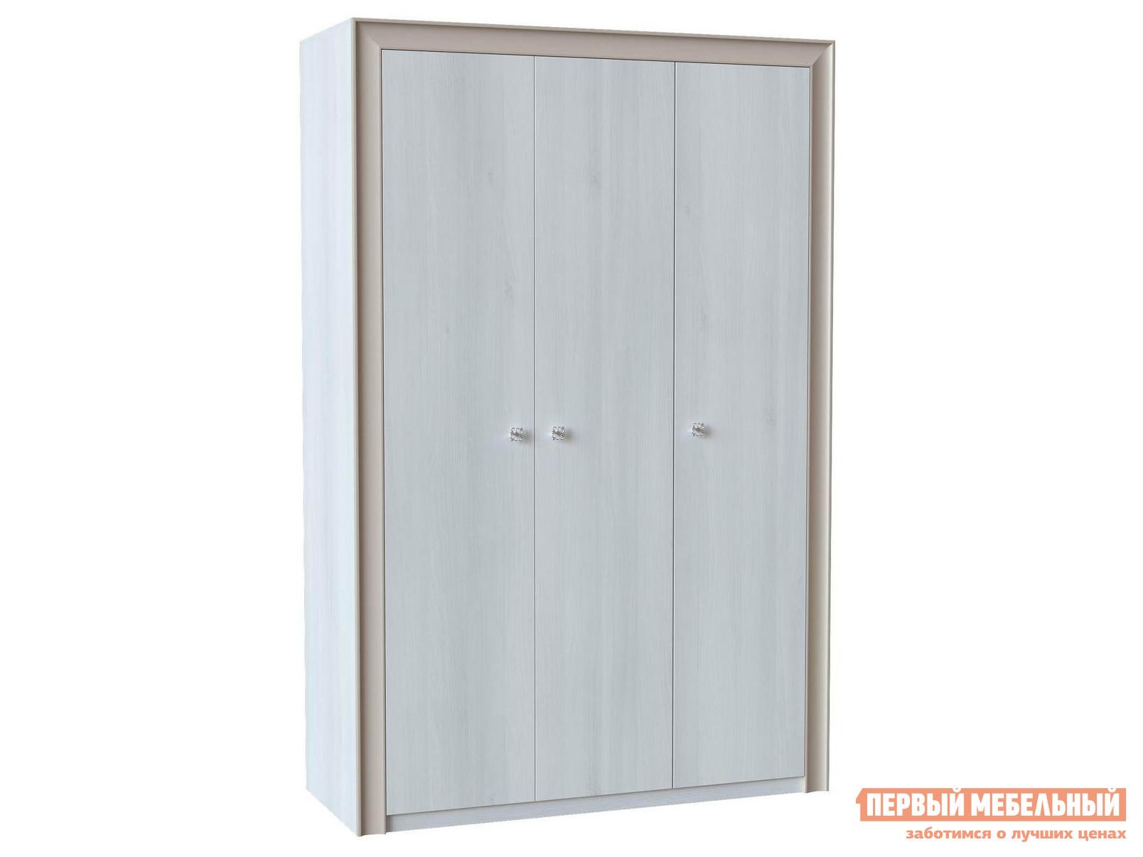 Шкаф 3-х дверный распашной Первый Мебельный Прато Ш3 шкаф распашной первый мебельный м 1 шкаф 2 х дверный