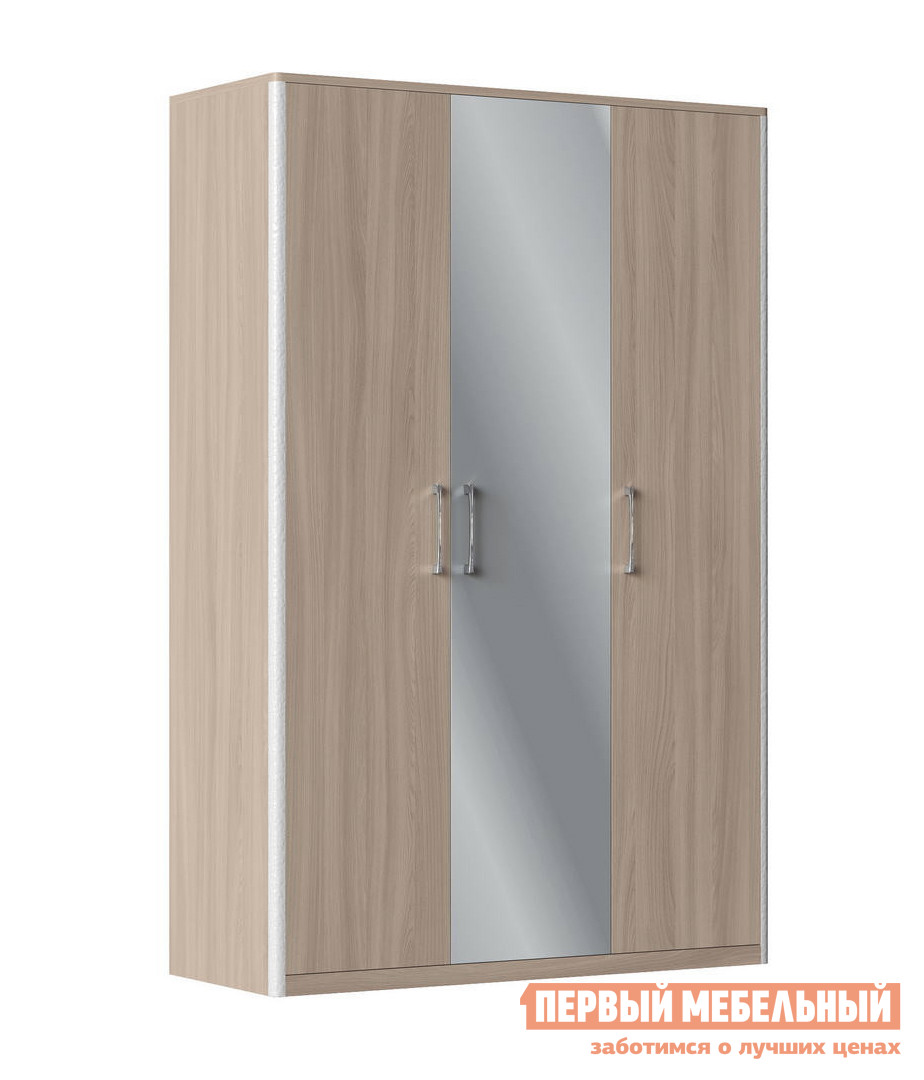Распашной шкаф с зеркалом Первый Мебельный Сорренто Ш3 с зеркалом