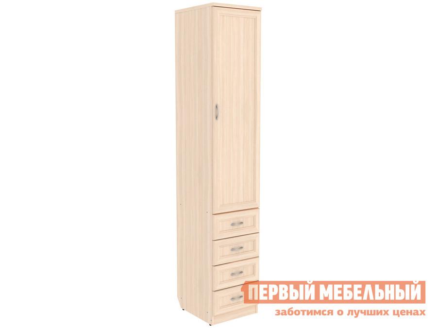 Распашной шкаф  Мерлен 104 Молочный дуб Уют сервис 85452