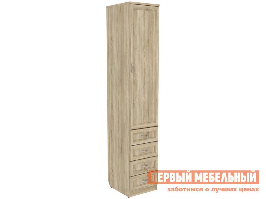 Распашной шкаф  Мерлен 104 Дуб Сонома Уют сервис 70252