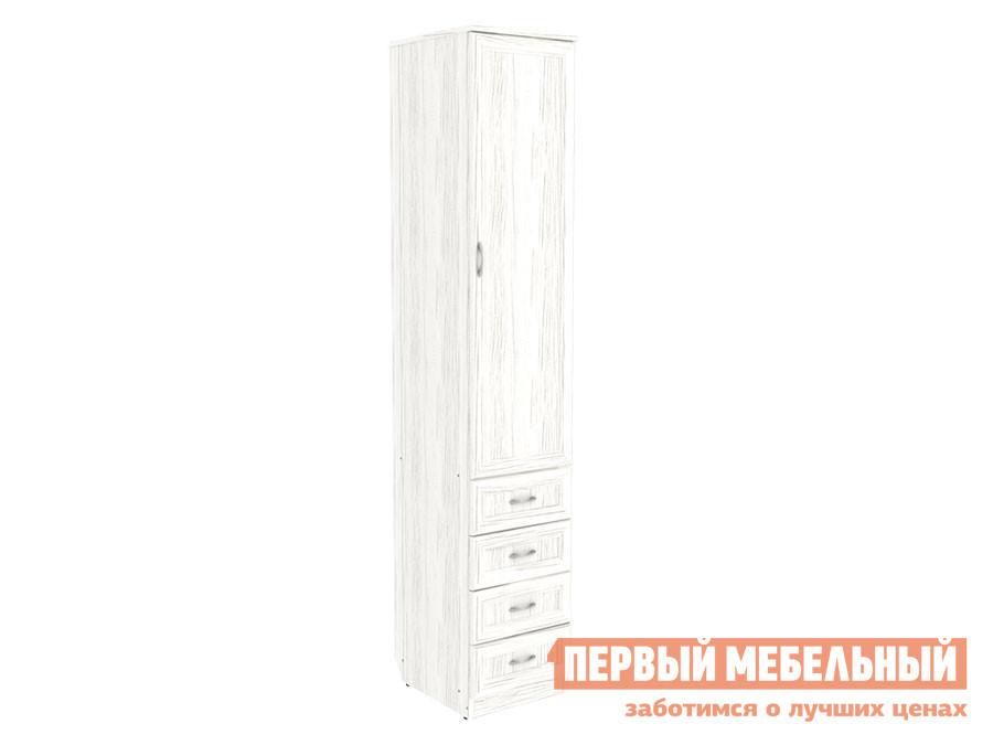 Распашной шкаф  Мерлен 104 Арктика Уют сервис 107145