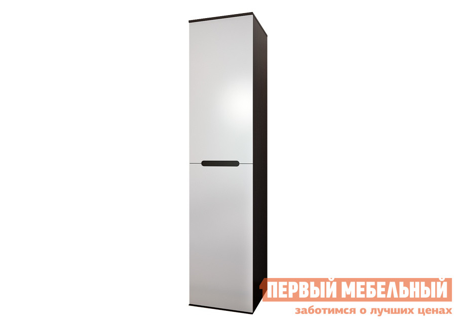 Шкаф распашной ПМ Вегас 1 Венге / Белый глянец