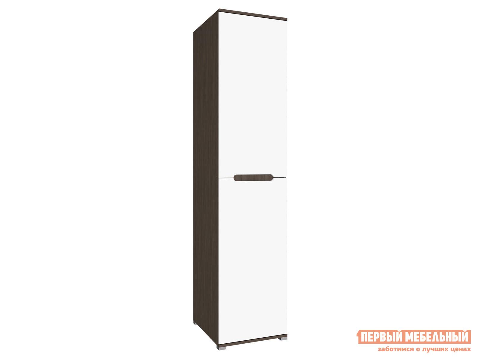 Распашной шкаф  Шкаф Вегас Венге / Белый глянец — Шкаф Вегас Венге / Белый глянец