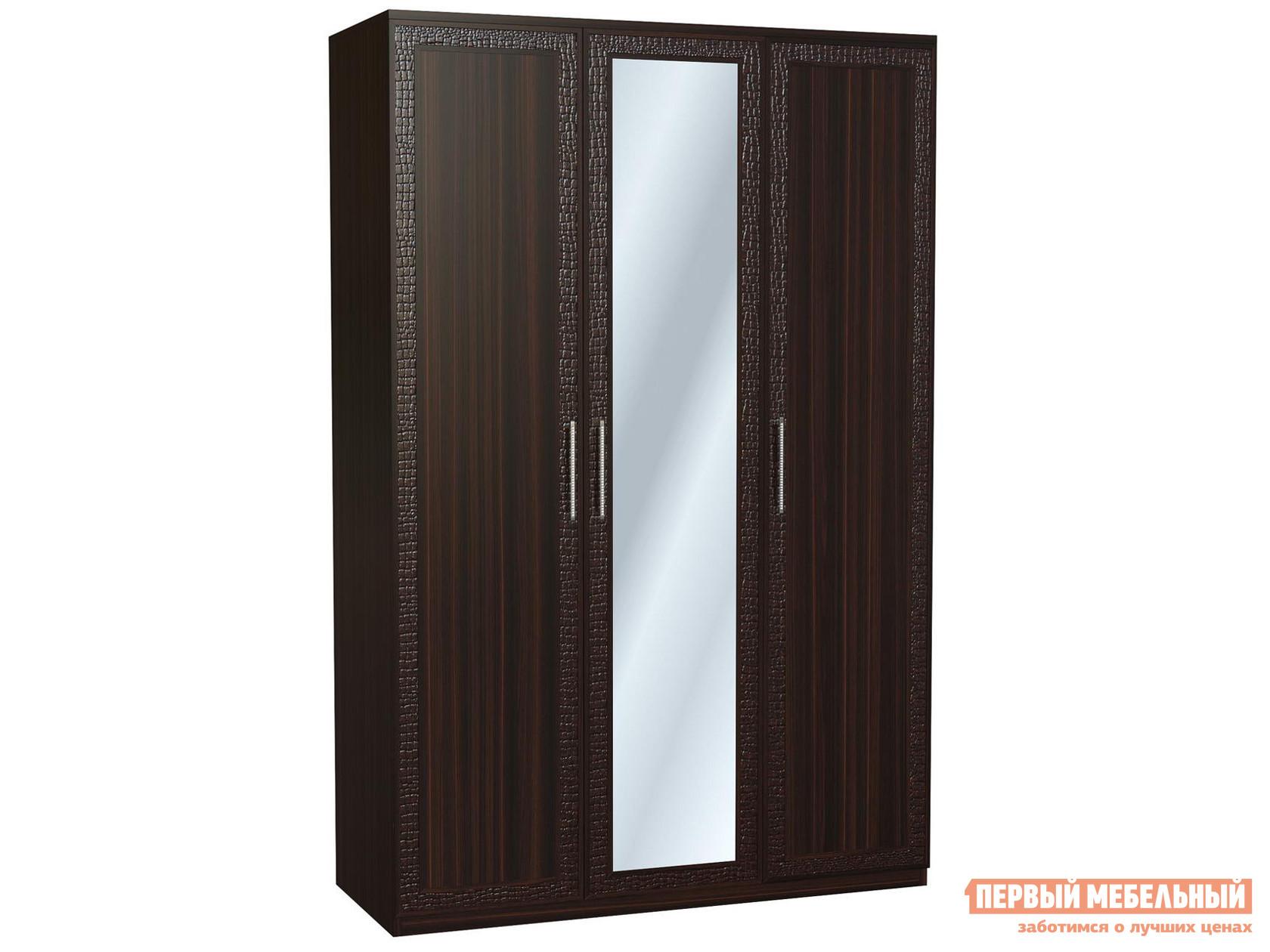 Распашной шкаф трехстворчатый Первый Мебельный Тоскана Ш3 с зеркалом распашной шкаф первый мебельный тоскана 4