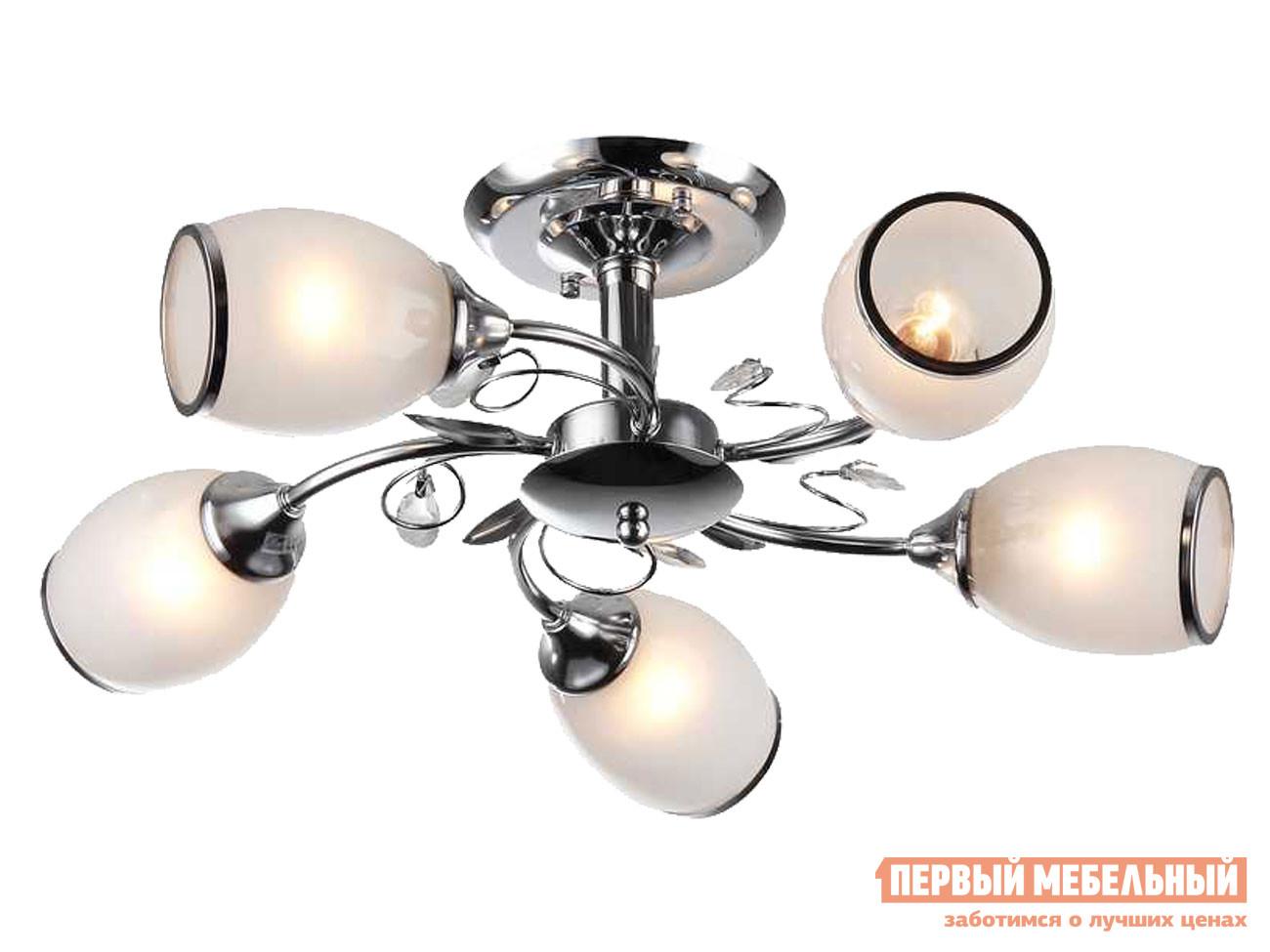 Потолочная люстра Первый Мебельный Люстра потолочная MD.1473-5-S CH 5*60Вт E27