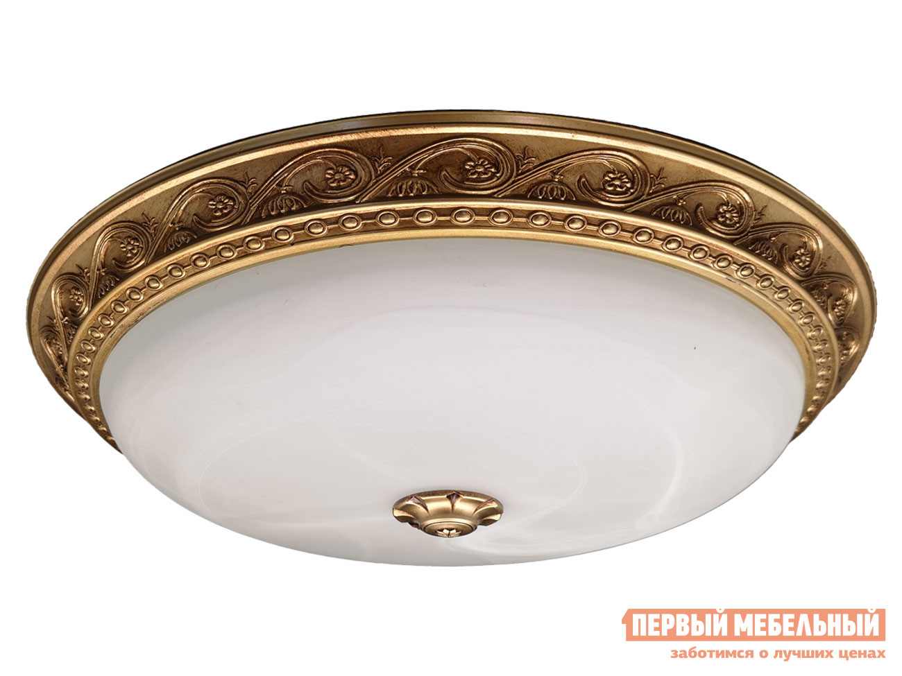 Потолочная люстра  PLC-4005-430 LED 48W Античная бронза / Белый Электросвет 124499