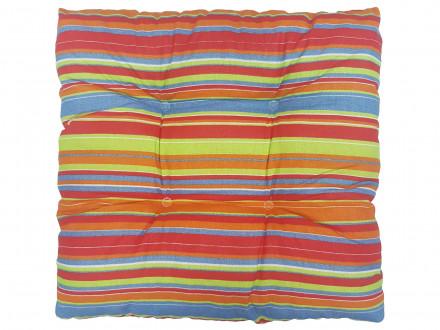 Подушка с имитацией пуговиц