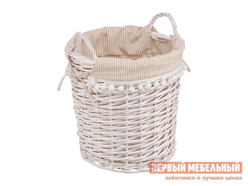 Корзина для хранения  Колокольчик Ивовая лоза / Полосы, ткань Магамакс 132595