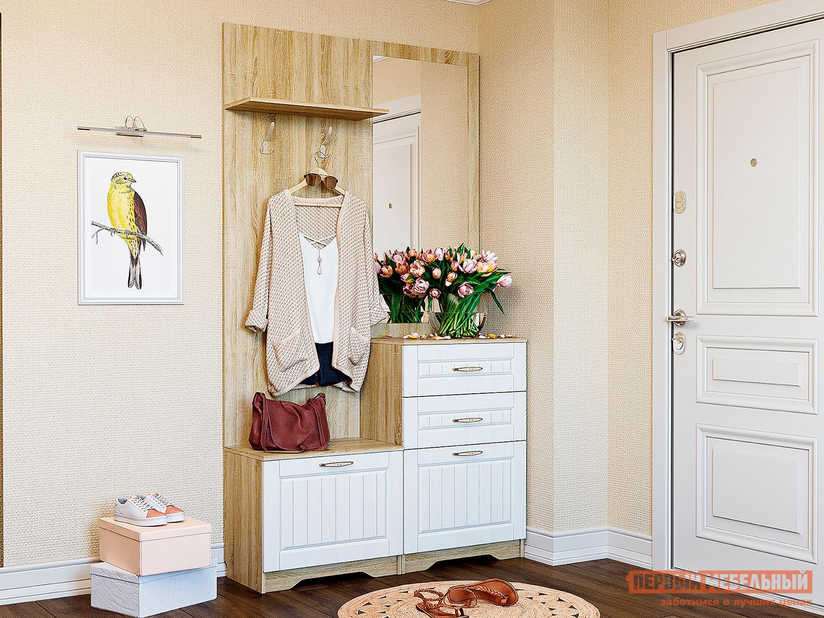 Фото - Прихожая Первый Мебельный Прихожая Оливия Лайт комплектация 4 прихожая первый мебельный прихожая лайн 1