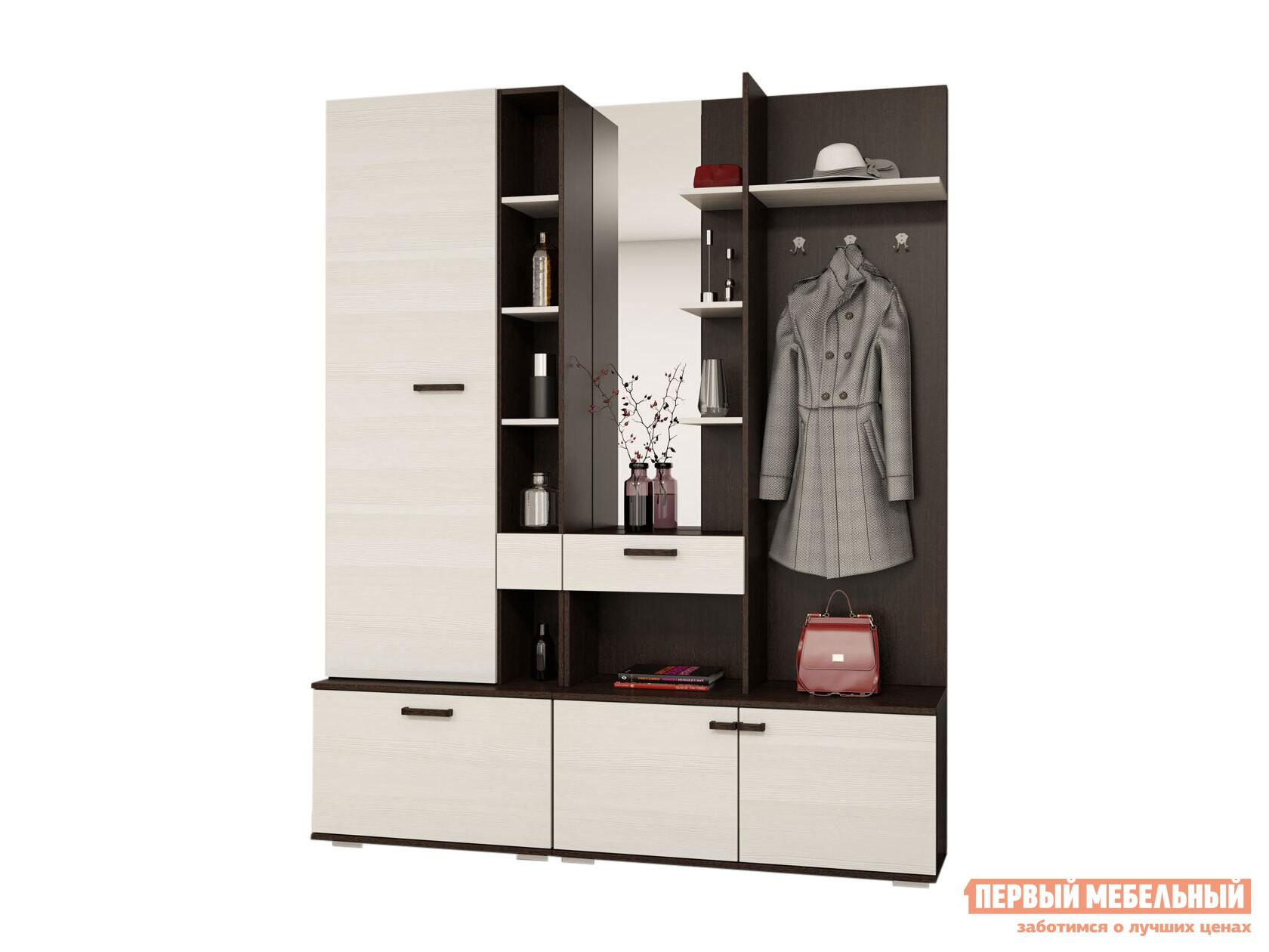 Комплект мебели для прихожей Первый Мебельный Комплект мебели для прихожей Инес