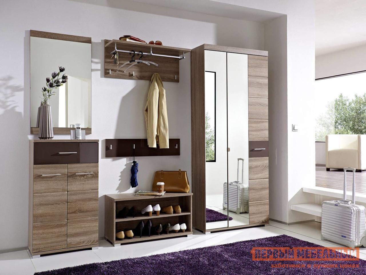 Модульная прихожая для узкого коридора Первый Мебельный Хоумлайн К1