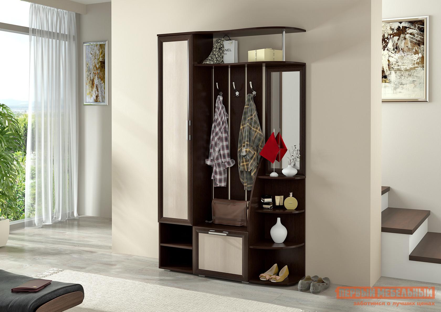 Современная прихожая для узкого коридора Первый Мебельный Ксения 2