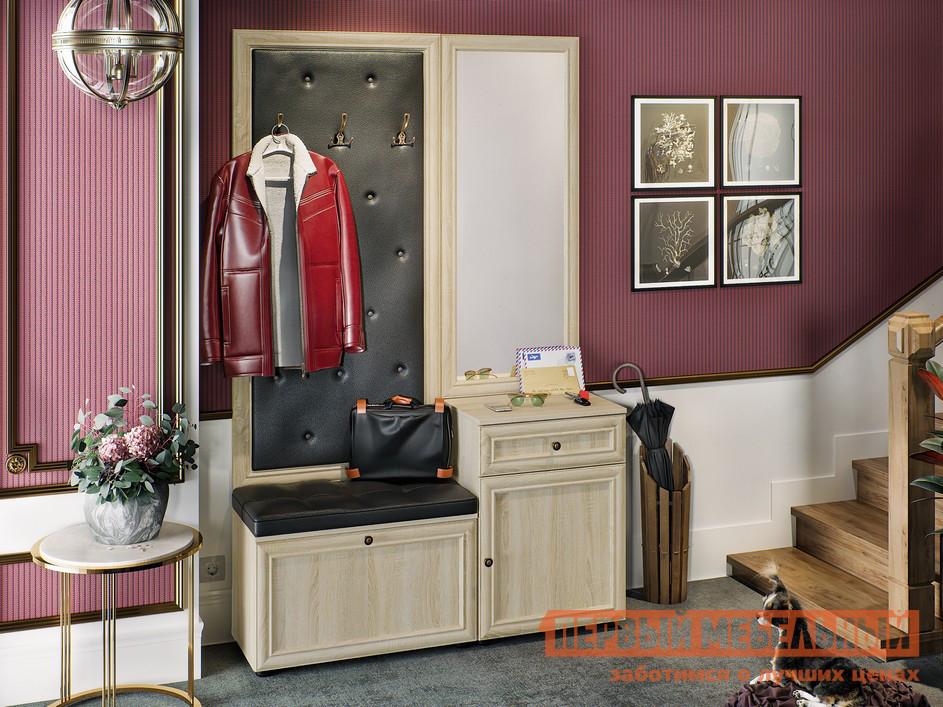 Модульная прихожая с каретной стяжкой Первый Мебельный Оскар-7 №1 модульная прихожая с каретной стяжкой первый мебельный оскар 7 2
